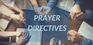Prayer Directives | June 18, 2018