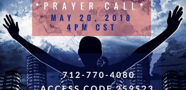 Prayer Directives | May 20, 2018