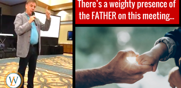 There's a weighty presence of the FATHER on this meeting… | Dr. Lance Wallnau