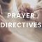 Prayer Directives 12/23/19