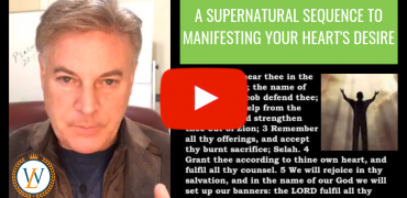 A Supernatural Sequence To Manifesting Your Hearts Desire