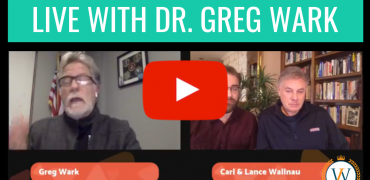 Live with Dr. Greg Wark!
