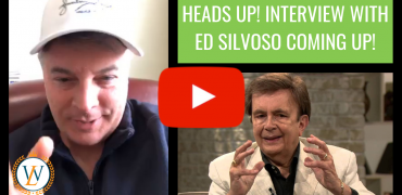 Heads Up! Interview With Ed Silvoso Coming Up!