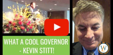 What A Cool Governor – Kevin Stitt!
