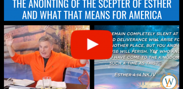The Anointing Of The Scepter of Esther and What That Means For America