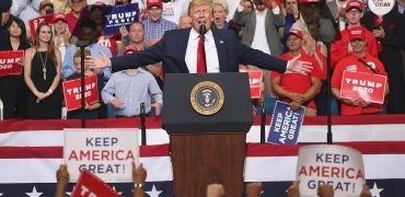 Trump's New Slogan, Best Moments From Re-Election Rally