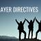 Prayer Directives 11/3/19