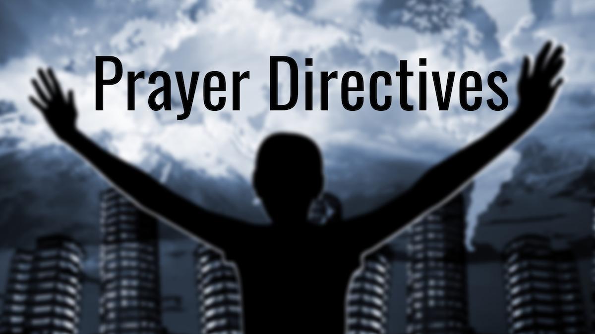 Prayer Directives