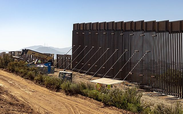 progress on the wall, eminent domain law & the Mexican cartels