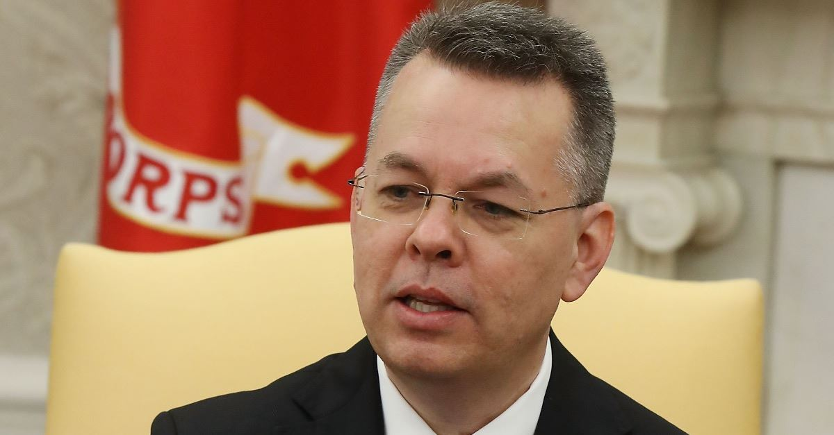 A detailed account of Pastor Andrew Brunson's experience of religious persecution while imprisoned in Turkey