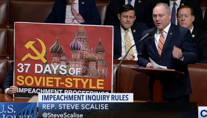 House Dems Pass Impeachment Resolution proving Democrats' abuse of power