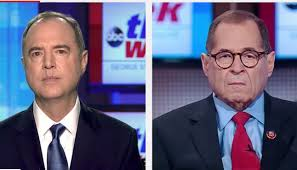 """BothAdam Schiff & Jerry Nadler appeared on ABC's """"This Week"""" with George Stephanopoulos. Both implied next year's election might already be """"corrupted"""" by President Trump and his campaign."""