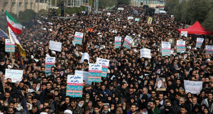Iran Protests qasem soleimani