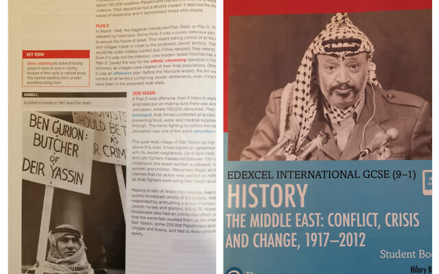 "Pearson Education released a book that indoctrinates children titled ""The Middle East: Conflict, Crisis and Change."" Pearson denied it contained any anti-Israel bias despite updating it to give it more balance."