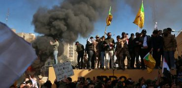 rioters stormed the US Embassy in Iraq