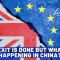 U.K. Brexit & News From China On Coronavirus!