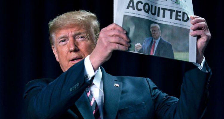 President Trump senate acquittal