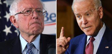 Joe Biden bernie sanders age