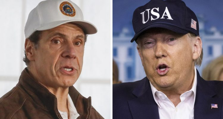 Trump praised by Governor Andrew Cuomo