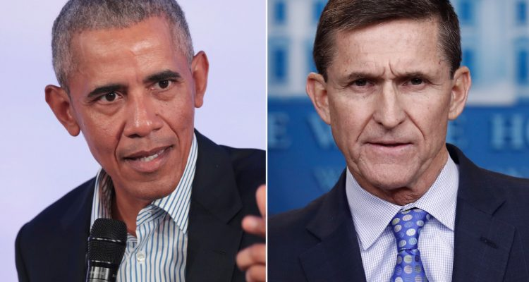 Barack Obama Michael Flynn
