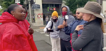 Fearless Conservative Black Woman Confronts Leftists In CHAZ, Seattle