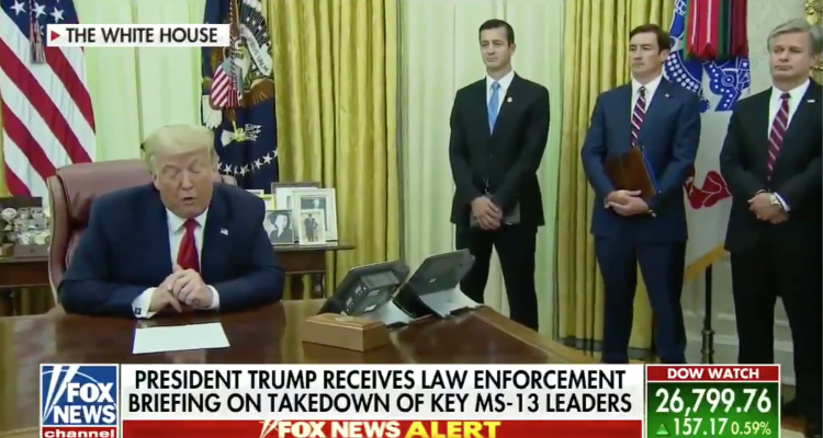 trump ms-13 oval office