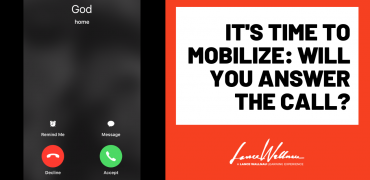 It's Time To Get Involved – Will You Answer The Call?