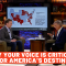 Why Your Voice Is Critical For America's Destiny