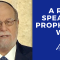 A Rabbi Speaks A Prophetic Word