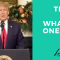 President Trump Says What No One Else Will