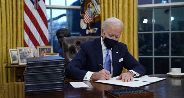 Joe Biden's first week